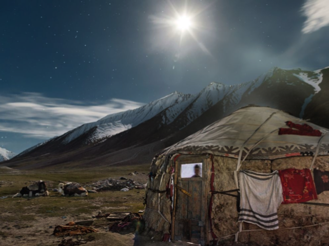 Kyrgyz Yurt, Afghanistan Photograph by Mattieu Paley, National Geographic