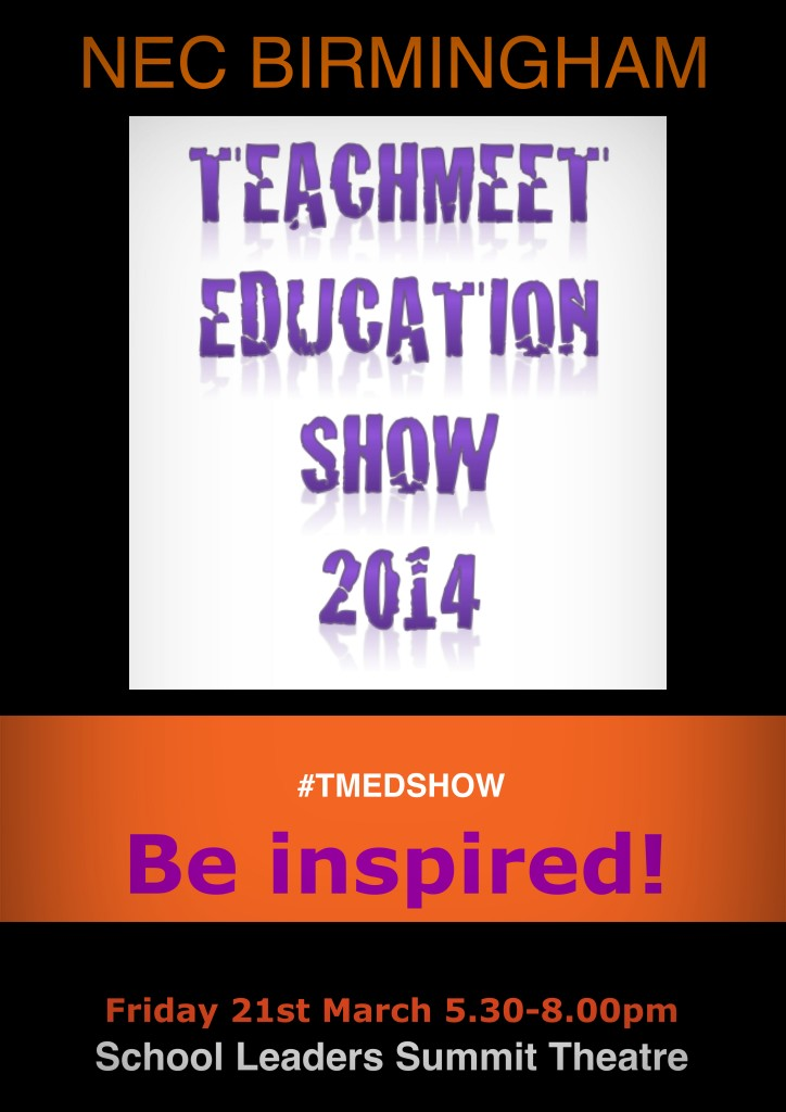 Teachmeet Education Show 2014 Poster