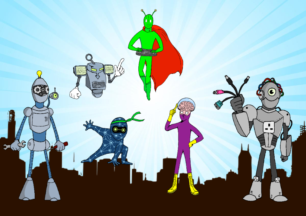 Computing Superheroes